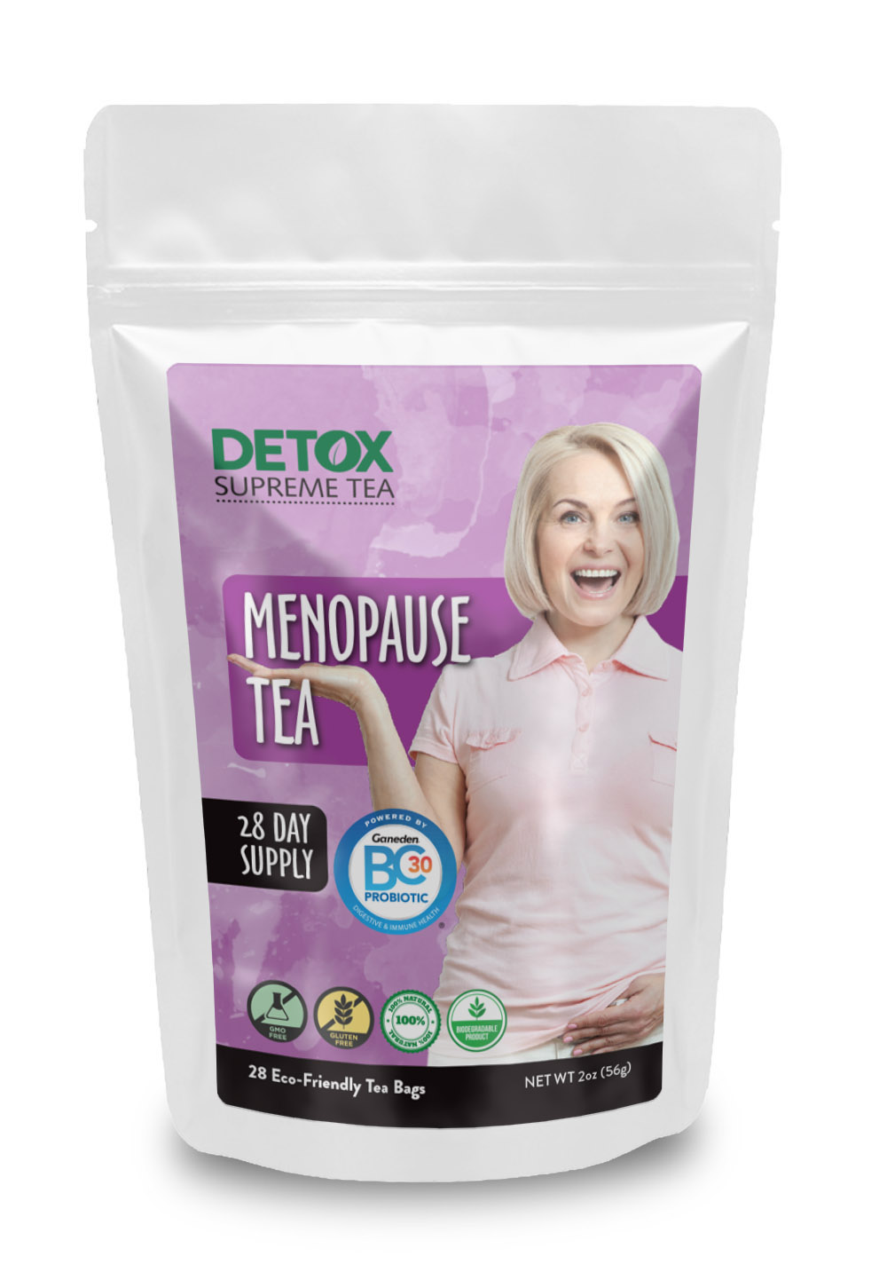 28 Day Menopause Tea with Probiotics