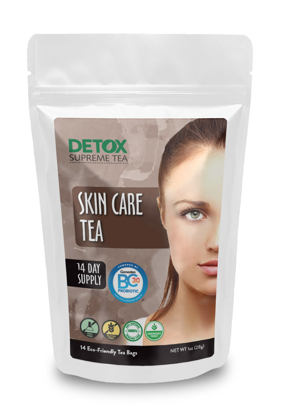 14 Day Skin Care Tea with Probiotics