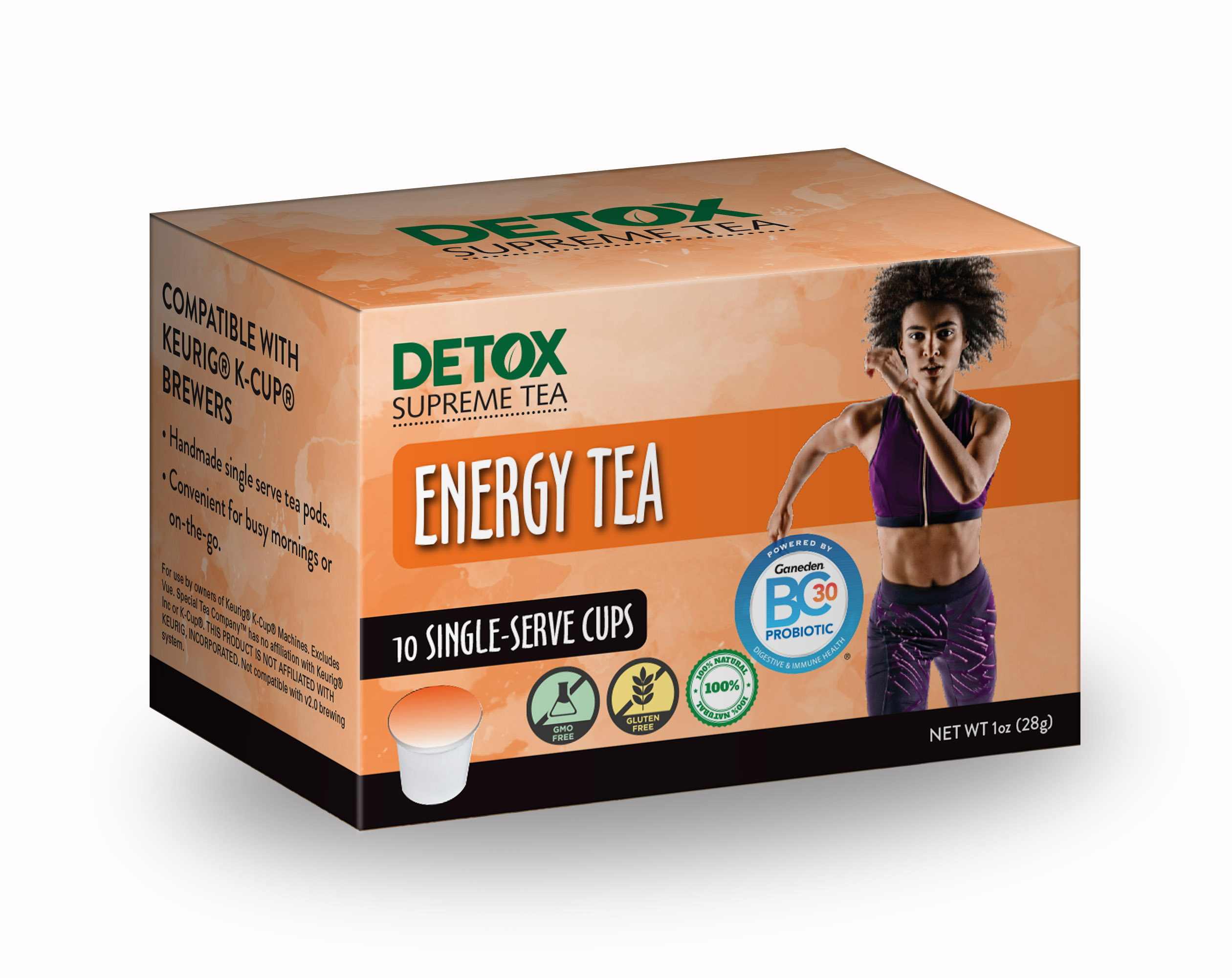 Single Serve Energy Tea with Probiotics