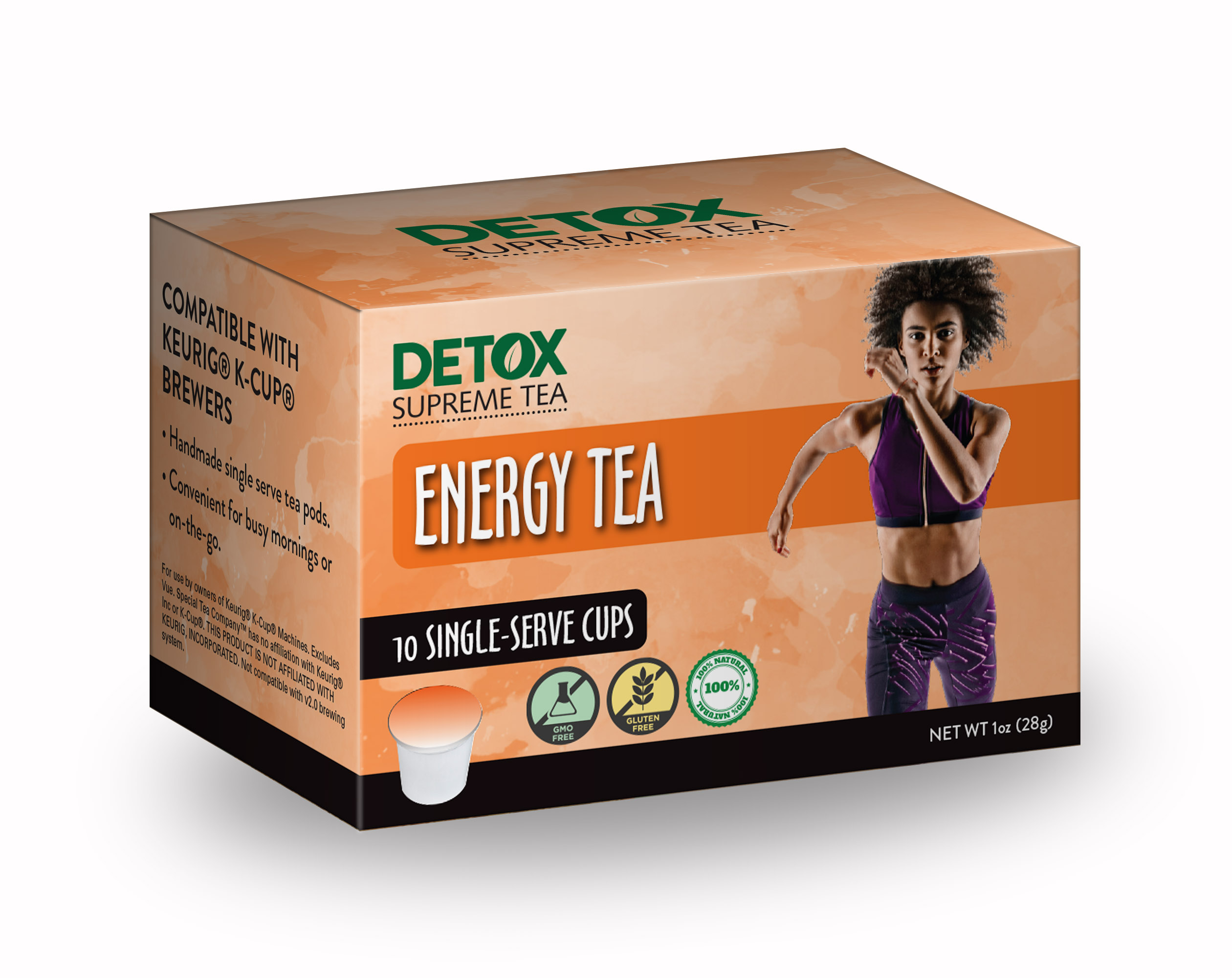 Single Serve Energy Tea