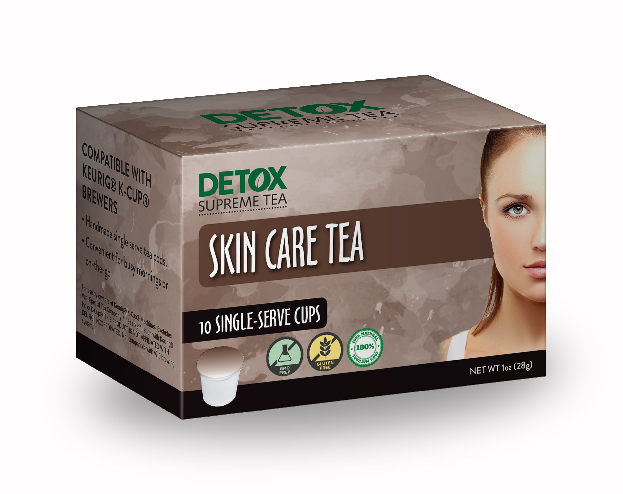 Single Serve Skin Tea